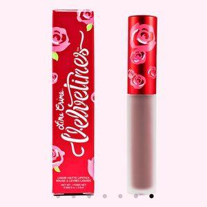 """new lime crime liquid matte lipstick in """"cashmere"""""""